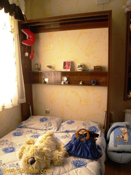 تخت خواب تاشو دیواری