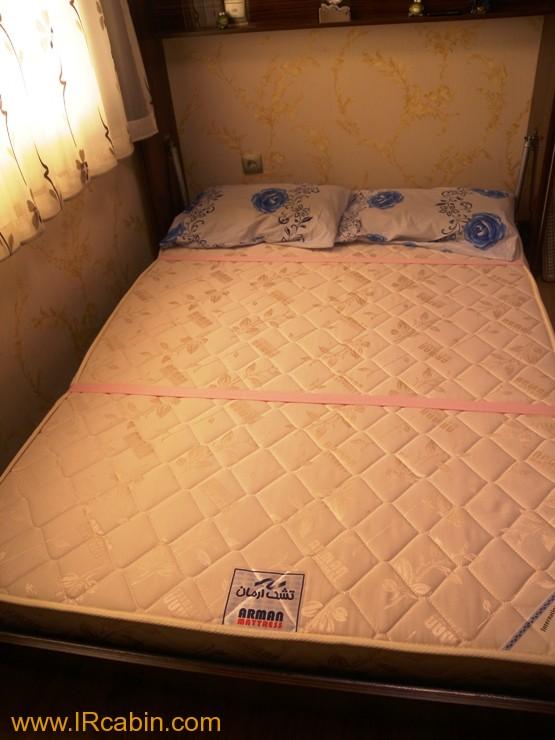 تخت خواب تاشو های گلاس