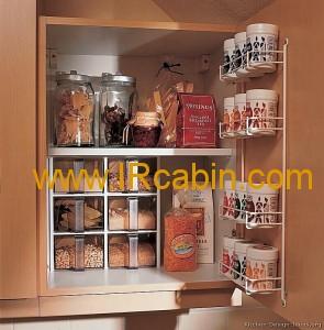 مواهد غذایی در کابینت