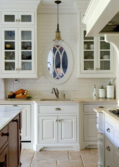 کابینت آشپزخانه شیشه ای