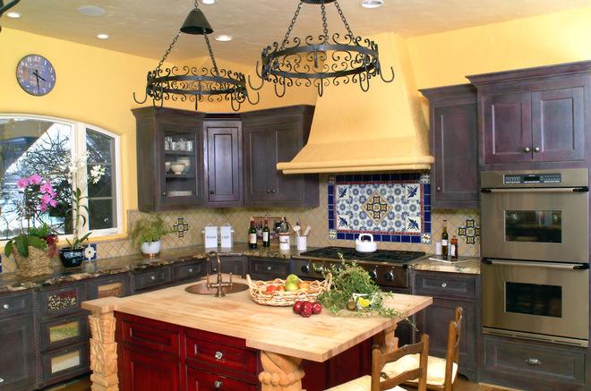 آشپزخانه های سبک مدیترانه ای
