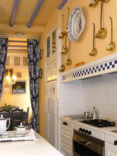 آشپزخانه های شبیه کافه های پاریس