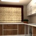 طراحی کابینت آشپزخانه سه بعدی