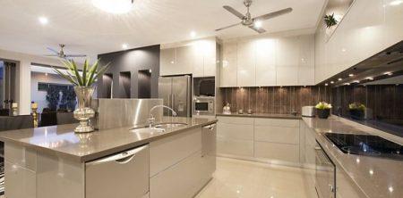 آشپزخانه اوپنی که می توانید آن را ببندید
